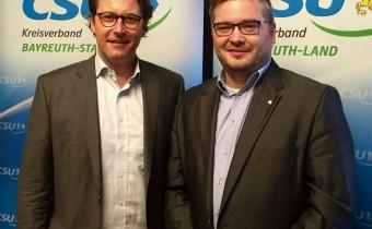 Dialogtour mit CSU-Generalsekretär Andreas Scheuer MdB